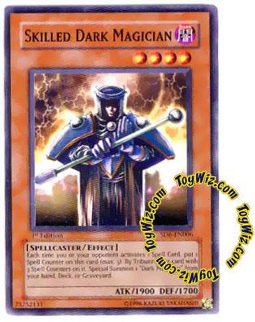 YuGiOh Structure Deck: Spellcaster's Judgment Common Skilled Dark Magician SD6-EN006