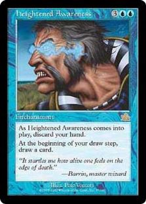 MtG Prophecy Rare Heightened Awareness #37 [Played Condition]