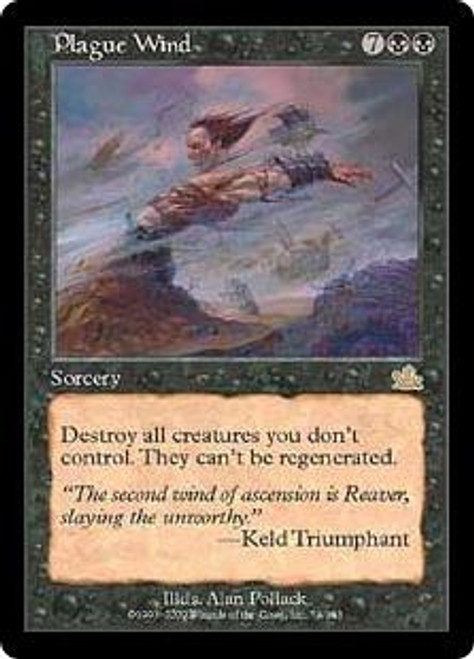 MtG Prophecy Rare Plague Wind #74 [Played Condition]