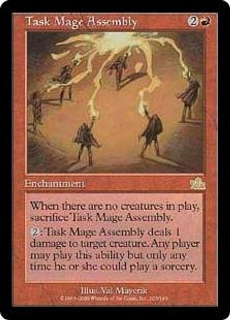 MtG Prophecy Rare Task Mage Assembly #105 [Played Condition]