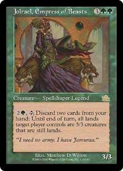 MtG Prophecy Rare Jolrael, Empress of Beasts #115 [Played Condition]