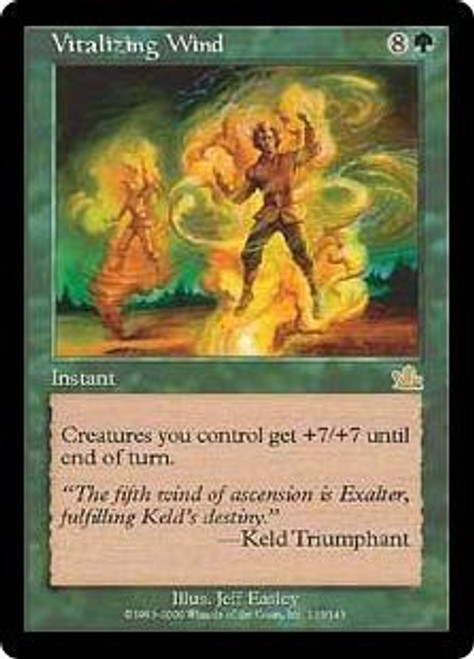 MtG Prophecy Rare Vitalizing Wind #133 [Played Condition]