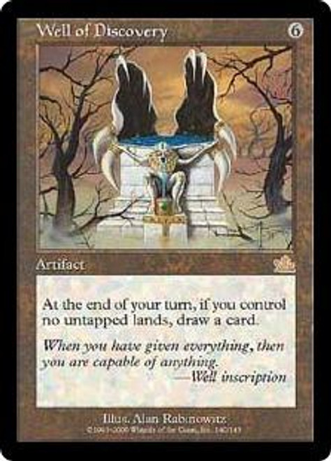 MtG Prophecy Rare Well of Discovery #140 [Played Condition]