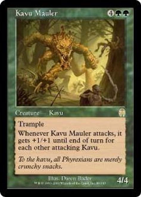 MtG Apocalypse Rare Kavu Mauler #80