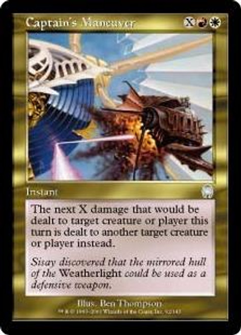 MtG Apocalypse Uncommon Captain's Maneuver #92