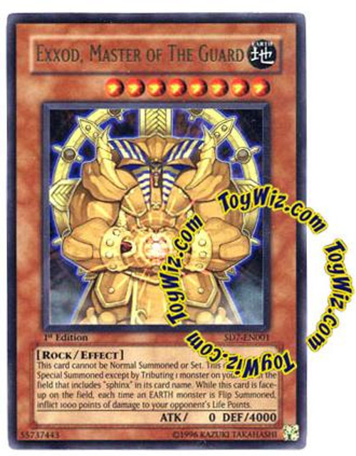 YuGiOh Structure Deck: Invincible Fortress Ultra Rare Exxod, Master of the Guard SD7-EN001