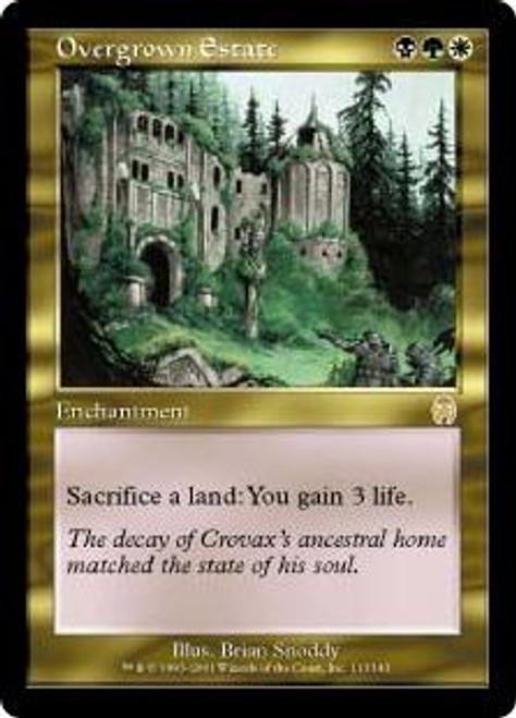 MtG Apocalypse Rare Overgrown Estate #113