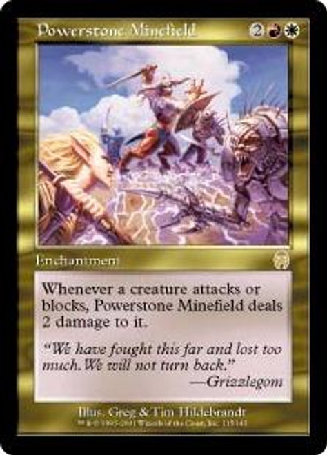 MtG Apocalypse Rare Powerstone Minefield #115