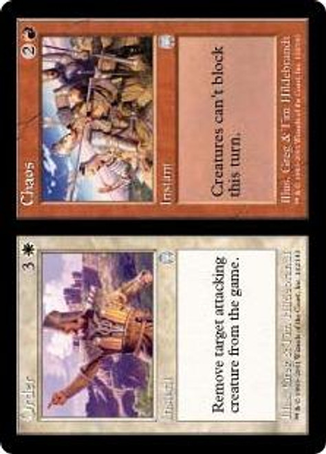 MtG Apocalypse Uncommon Order // Chaos #132