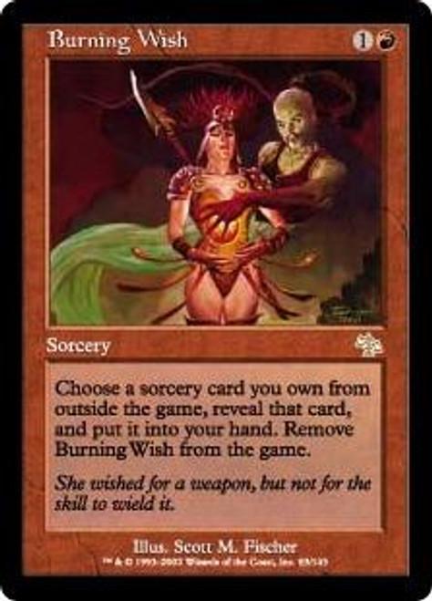 MtG Judgment Rare Burning Wish #83