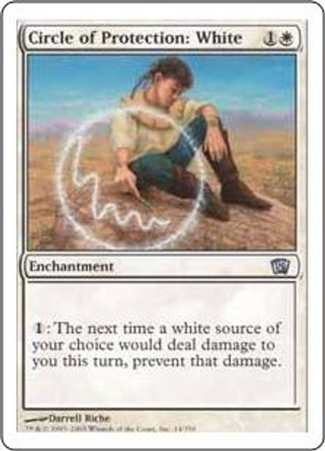 MtG 8th Edition Uncommon Circle of Protection: White #14