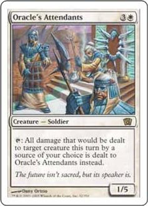 MtG 8th Edition Rare Oracle's Attendants #32