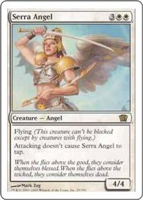 MtG 8th Edition Rare Serra Angel #45