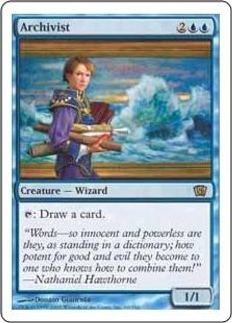 MtG 8th Edition Rare Archivist #60