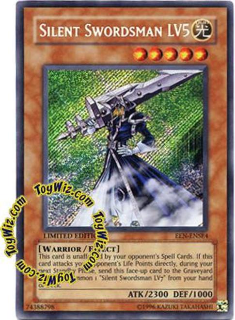 YuGiOh Elemental Energy Special Edition Secret Rare Silent Swordsman LV5 EEN-ENSE4