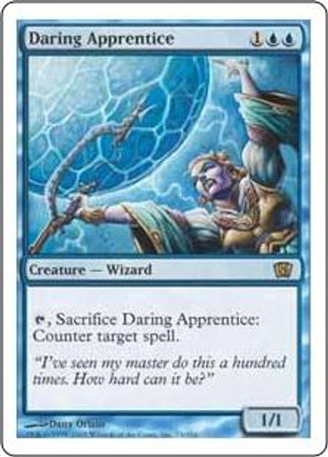 MtG 8th Edition Rare Daring Apprentice #73