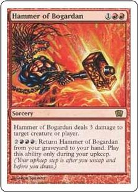 MtG 8th Edition Rare Hammer of Bogardan #193