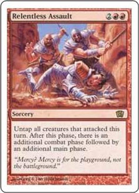 MtG 8th Edition Rare Relentless Assault #214