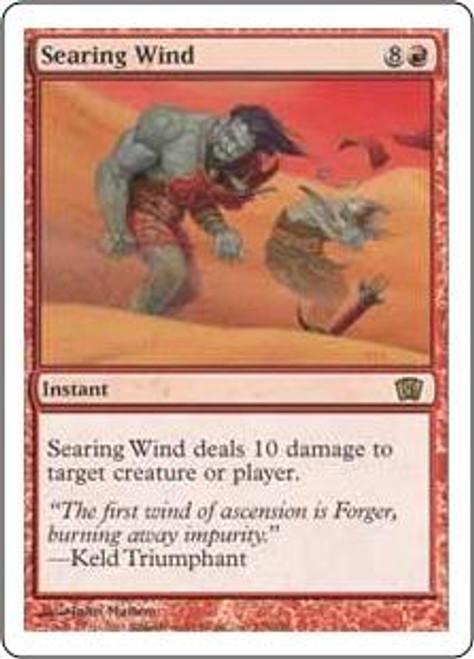 MtG 8th Edition Rare Searing Wind #218