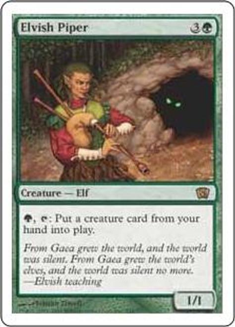 MtG 8th Edition Rare Elvish Piper #244