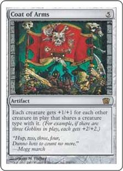 MtG 8th Edition Rare Coat of Arms #294