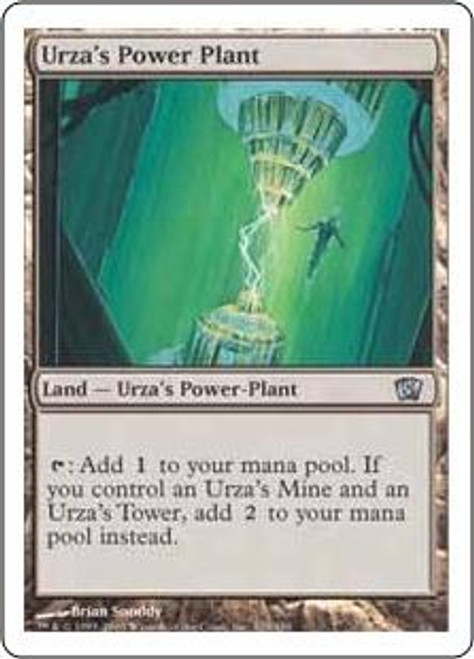 MtG 8th Edition Uncommon Urza's Power Plant #329