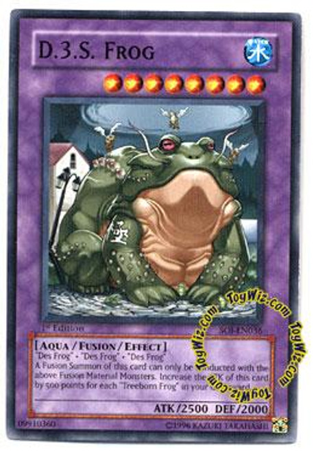 YuGiOh GX Shadow of Infinity Common D.3.S. Frog SOI-EN036