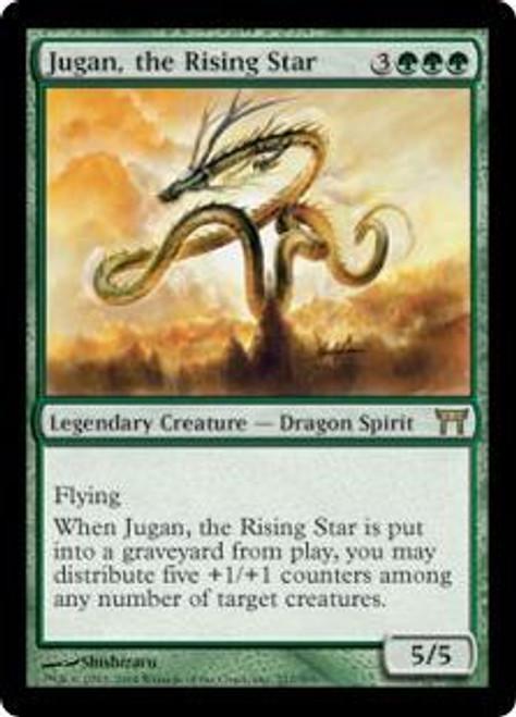 MtG Champions of Kamigawa Rare Jugan, the Rising Star #217