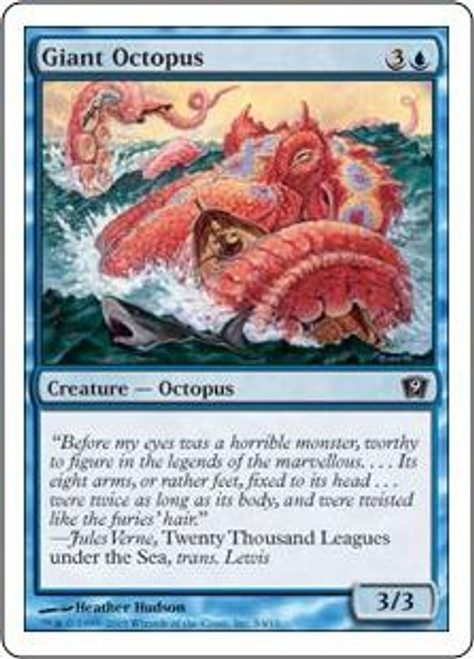 MtG 9th Edition Common Giant Octopus #4