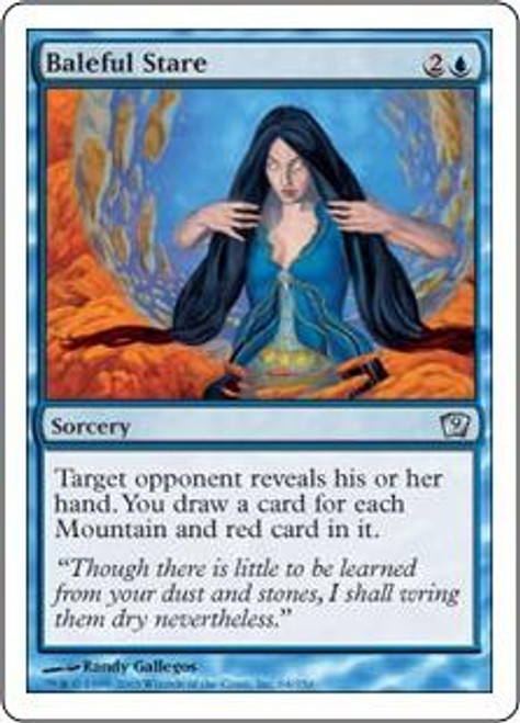 MtG 9th Edition Uncommon Baleful Stare #64