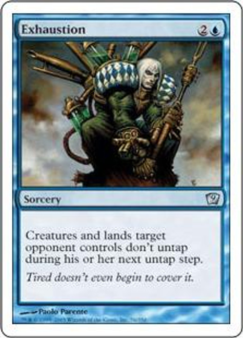 MtG 9th Edition Uncommon Exhaustion #76