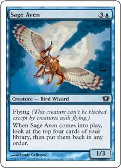 MtG 9th Edition Common Sage Aven #95