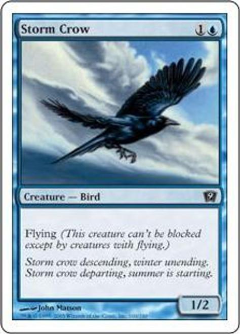 MtG 9th Edition Common Storm Crow #100