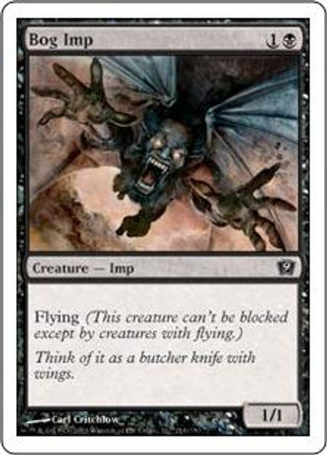 MtG 9th Edition Common Bog Imp #116