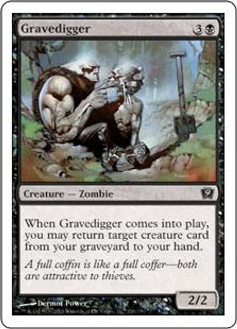 MtG 9th Edition Common Gravedigger #136