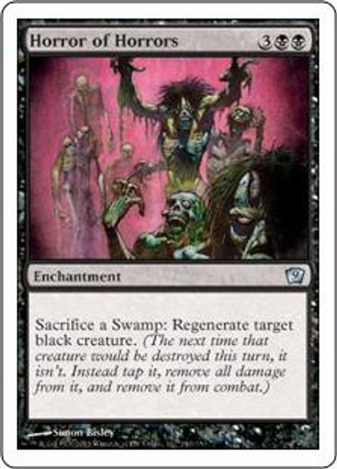 MtG 9th Edition Uncommon Horror of Horrors #140