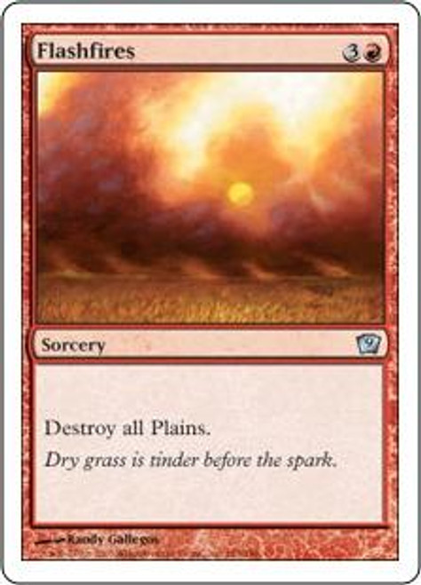 MtG 9th Edition Uncommon Flashfires #183