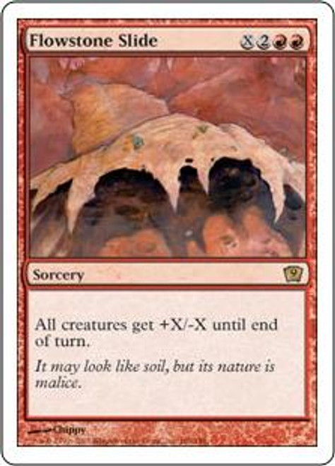 MtG 9th Edition Rare Flowstone Slide #186