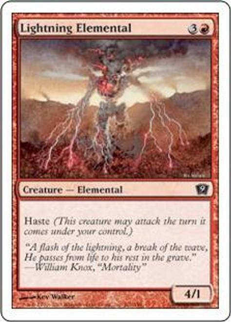 MtG 9th Edition Common Lightning Elemental #201