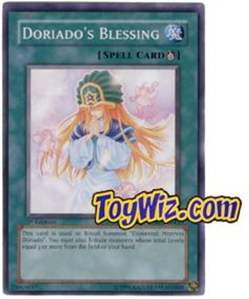 YuGiOh The Lost Millennium Common Doriado's Blessing TLM-EN043