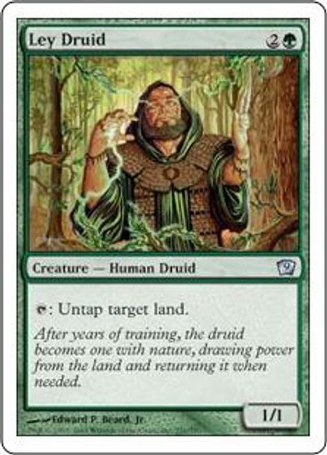 MtG 9th Edition Uncommon Ley Druid #251