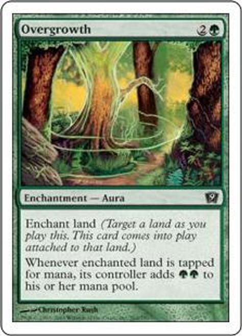 MtG 9th Edition Common Overgrowth #262