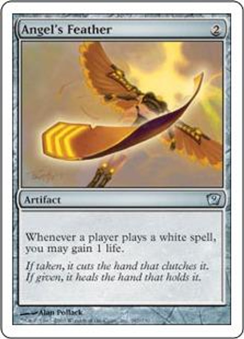 MtG 9th Edition Uncommon Angel's Feather #287