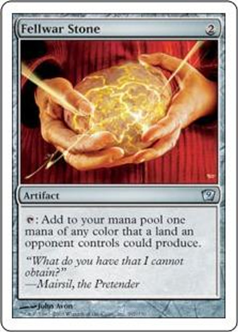 MtG 9th Edition Uncommon Fellwar Stone #297