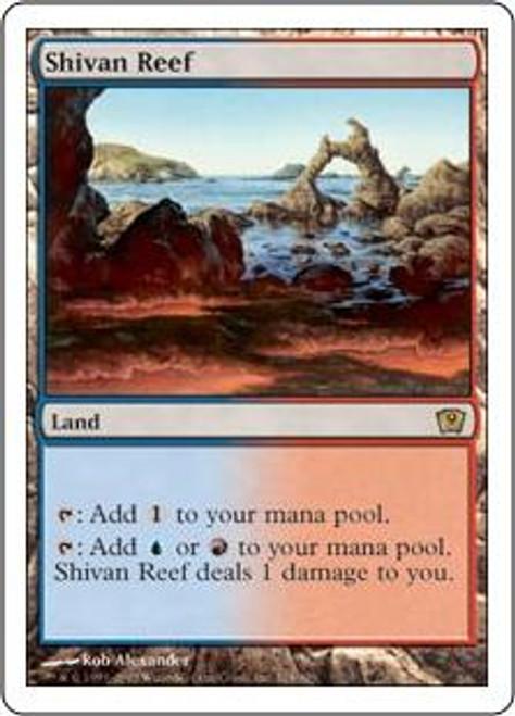 MtG 9th Edition Rare Shivan Reef #324