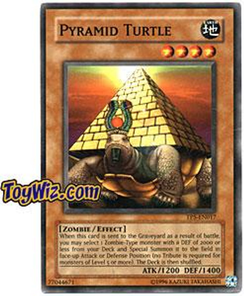 YuGiOh Tournament Pack 5 Common Pyramid Turtle TP5-EN017