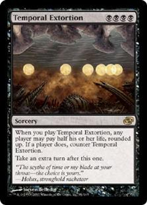 MtG Planar Chaos Rare Temporal Extortion #81