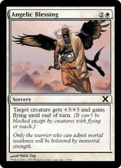 MtG 10th Edition Common Angelic Blessing #3