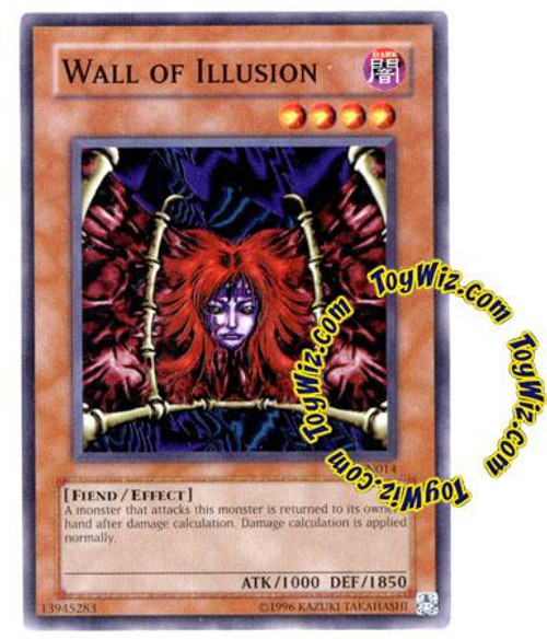 YuGiOh Tournament Pack 7 Common Wall of Illusion TP7-EN014