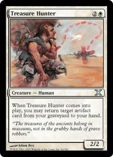 MtG 10th Edition Uncommon Treasure Hunter #52